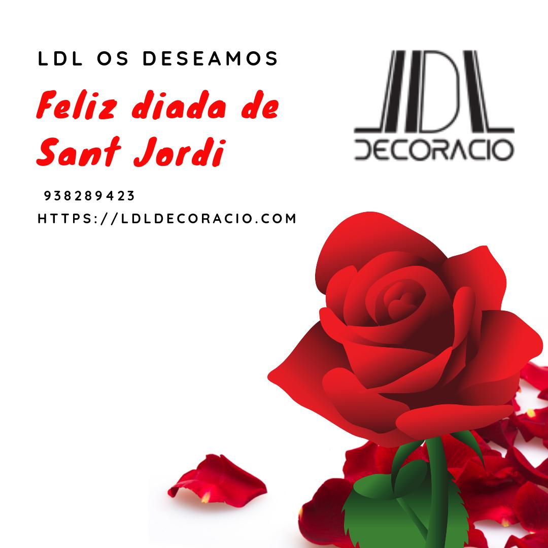 Feliz Diada de Sant Jordi LDL Decoració en Gavà Todo el equipo de LDL Decoració queremos desearos una feliz Diada de Sant Jordi.
