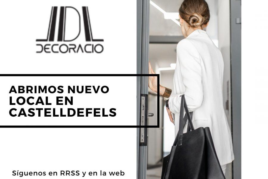 Abrimos nuevo local en Castelldefels