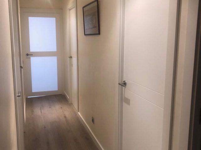 Cambio de puertas de un piso en Gavà